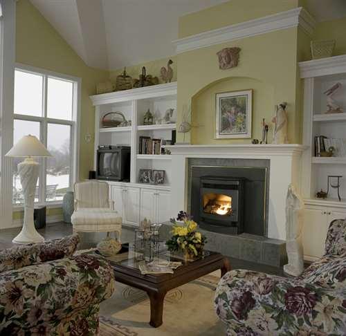 poeles santa fe encastrable foyer granule de bois quadra fire santafei1 mbk. Black Bedroom Furniture Sets. Home Design Ideas